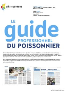 Le Guide professionnel du poissonnier